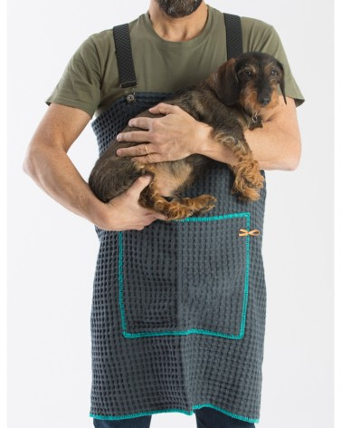 Tablier de toilette haut de gamme pour chien