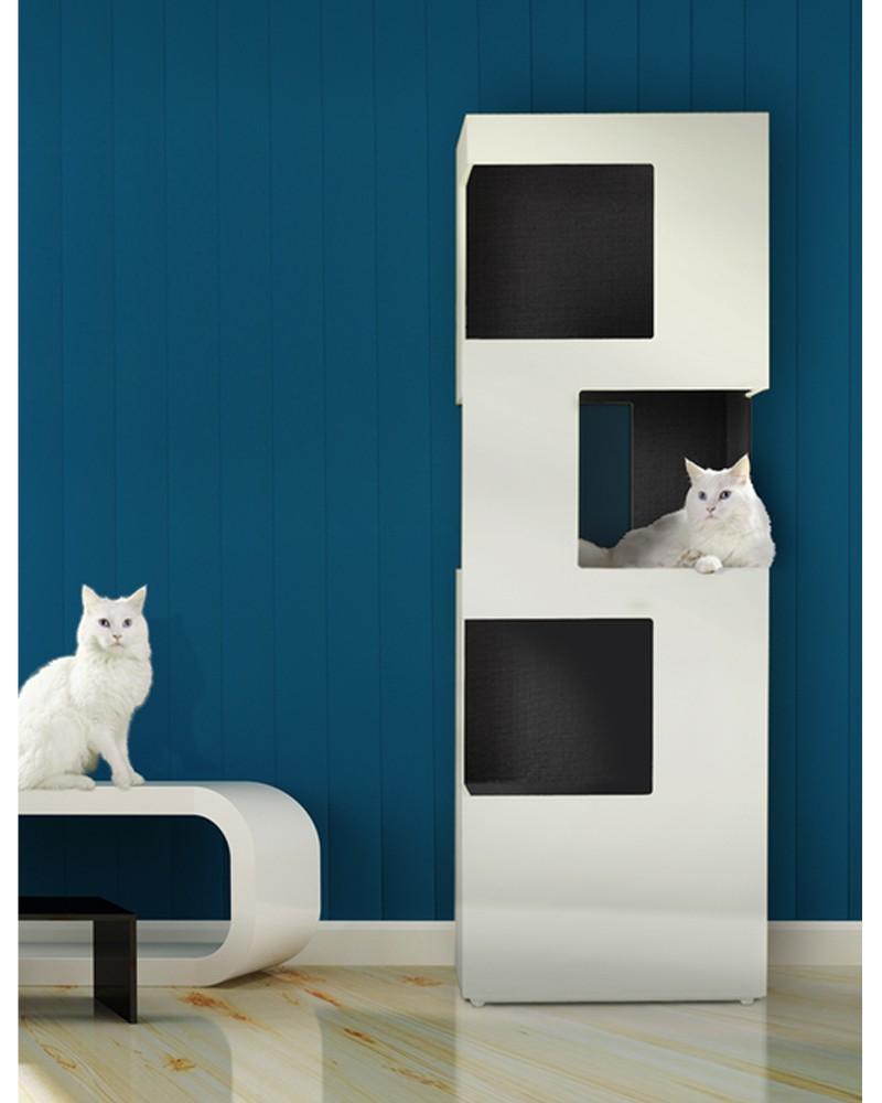 arbre chat de luxe the one collection katzenbaum design. Black Bedroom Furniture Sets. Home Design Ideas