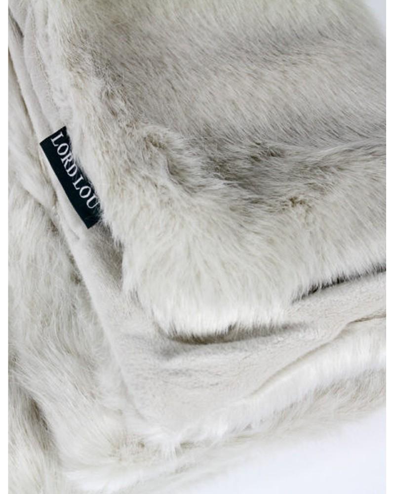 Couverture de luxe pour chien, modèle Blitz Ivory de chez Lord Lou