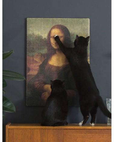 Griffoir de luxe pour chat