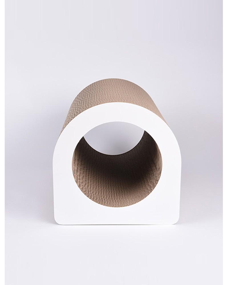Griffoir Chat Carton Design le tube - l - griffoir et décoration pour chat