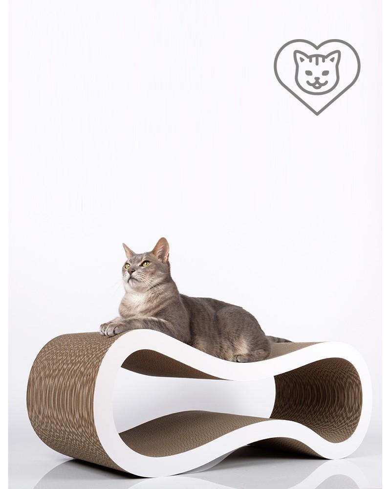 Griffoir Chat Carton Design singha - l - griffoir original pour chat
